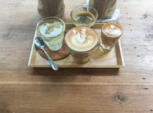 Café en amor Imagen de archivo