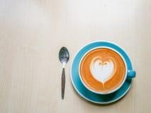 Café en amor Foto de archivo libre de regalías
