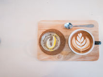 Café en amor Fotos de archivo