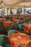 Café en ciudad Fotos de archivo