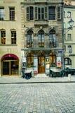 Café en Ginebra Fotos de archivo libres de regalías