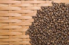 Café en granos. Foto de archivo libre de regalías