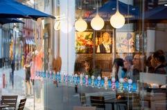 Café en Hamburgo fotos de archivo libres de regalías