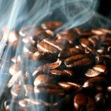 Café en humo Imagen de archivo libre de regalías