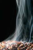 Café en humo Fotografía de archivo libre de regalías