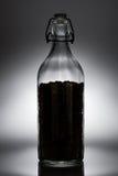 Café en la botella imagen de archivo