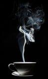 Café en negro Imagen de archivo libre de regalías