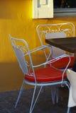 Café en plein air Photo stock