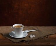 Café en retro aún Imágenes de archivo libres de regalías