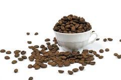 Café en taza Fotografía de archivo libre de regalías