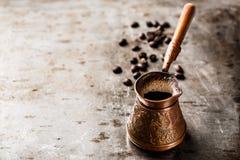 Café en turco Foto de archivo libre de regalías