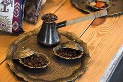 Café en turco Fotografía de archivo libre de regalías