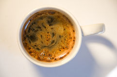 Café en una taza Imagen de archivo