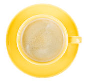 Café en una taza foto de archivo