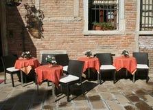Café en Venecia Fotografía de archivo