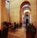 Café en Zadar Croatia Fotos de archivo libres de regalías