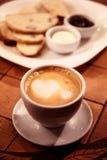 Café encantador imagens de stock royalty free