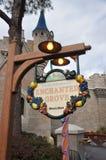 Café Enchanted do bosque no mundo de Disney imagem de stock