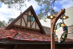 Café Enchanted do bosque no mundo de Disney imagens de stock