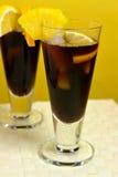 Café enfriado el Caribe Foto de archivo libre de regalías