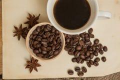 Café et anis Photographie stock libre de droits