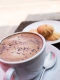 Café et biscuit Image stock