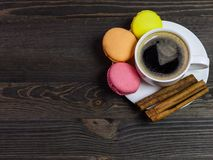 Café et biscuits Image stock