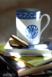 Café et chocolat Photo stock
