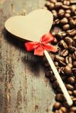 Café et chocolat Photographie stock