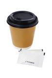 Café et crémeuse Image stock