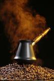 Café et fumée Photos libres de droits