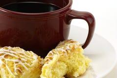 Café et gâteau Images libres de droits