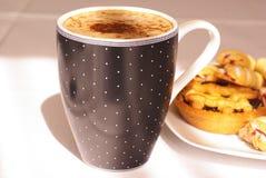 Café et gâteaux Image stock
