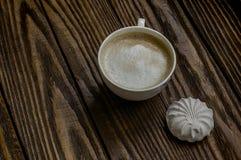 Café et guimauves Photos libres de droits