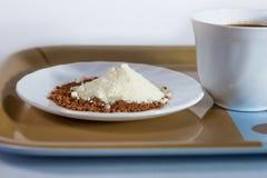 Café et lait Images libres de droits