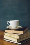 Café et livres Photos libres de droits