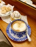 Café et pâtisseries, Venise, Italie Images stock