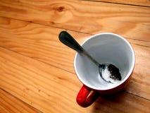 Café et sucre Images stock