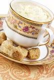 Café et sucre brun image libre de droits