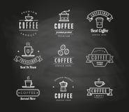 Café et tableau de gâteaux Photographie stock libre de droits