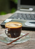 Café express Photographie stock libre de droits