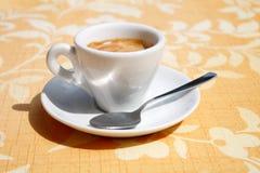 Café express Foto de archivo libre de regalías