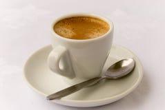 Café express 2 de cuvette Photographie stock libre de droits