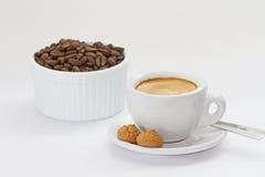 Café express Imágenes de archivo libres de regalías