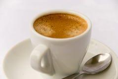 Café express 3 de la taza Imagen de archivo libre de regalías