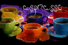 Café express Photo stock