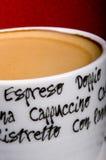 Café express photographie stock