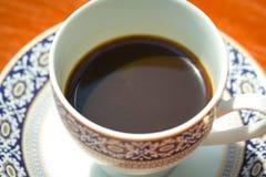 Café express blanco del café de la taza foto de archivo libre de regalías