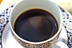 Café express blanco del café de la taza fotos de archivo