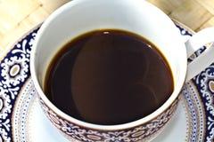 Café express blanco del café de la taza Fotografía de archivo
